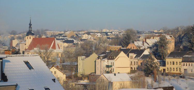 Altstadt Reichenbach im Winter